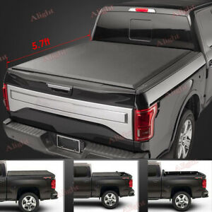 Premium Roll lock Tonneau Cover For 2002 2018 Dodge Ram 1500 2500 3500 5 7ft Bed
