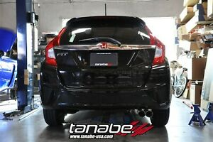 Tanabe Medalion Touring Axle Back Exhaust Muffler For 2015 2017 Honda Fit
