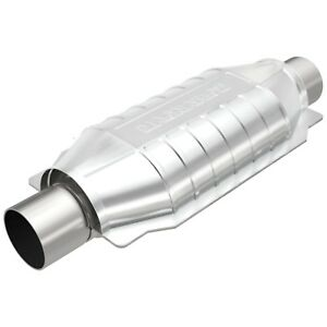 Magnaflow Catalytic Converter 2 25 In out Universal Standard Grade Federal 94005