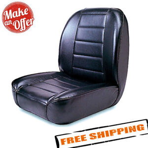 Rugged Ridge 13400 01 Seat Low back Front No recline For 1955 1986 Jeep Cj
