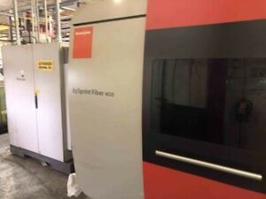 Bystronic Bysprint Fiber 4020 6k Fiber Cnc Laser Cutting Machine 2016