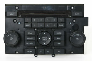2008 Ford Escape Mercury Mariner Radio Control Panel Part Number 8l8t 18a802 akw