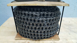 New 60 1 Peer Roller Chain 100ft Riveted 60 Single Strand