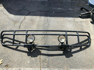 Hummer H2 Brush Guard With Lights