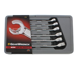 Kd Gearwrench 81906 6 Piece 6pc Flare Nut Gear Bolt Wrench Set Metric Brand New