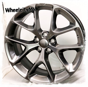 20 Inch Hyper Silver Dodge Challenger Oe Factory Wheels Fits Charger 5x115 24