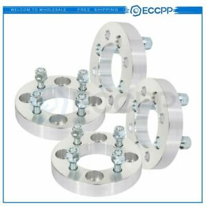 Eccpp 4 Pcs 1 4x108 To 4x100 12x1 5 Studs Wheel Spacers For Ford Fiesta 02 17
