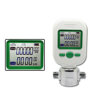 Digital Display 0 25l min 6mm Air Oxygen Nitrogen Mass Flowmeters Flow Meter