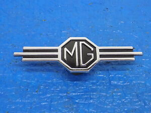 Aug Oem Emblem 130254 Mgb Mg Part Radio Delete Dash Panel Emblem