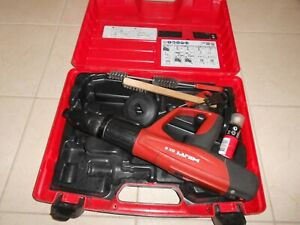 Hilti Dx 5 Powder Actuated Nail Gun With F8 Nose Hilti Dx 460