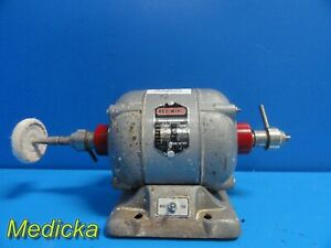Red Wing 26a 1 4 Hp Rpm 3450 Ball Bearing A c Motor Polisher Buffer Lathe 18710