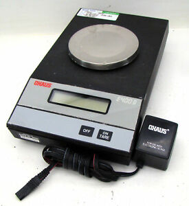 Ohaus Lab Scale 400 40g Model E400d W Power Supply