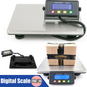 Large Lcd Display Digital Postal Scale Electronic Precision Sensor For Parcel