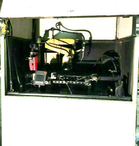 Lincoln Electric Ecell Lr Welding Cell Arcmate 50ic 5l Robot R30ia Lincoln I400