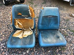 Mopar A Body Bucket Seats From 68 Dart Gts