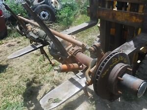 1980 84 Dodge W150 Ramcharger Dana 44 Front Axle Assembly Jeep Swap Will Ship