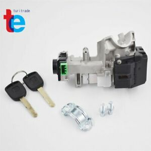 Ignition Switch Cylinder Lock Auto Trans For Honda Civic 03 04 05 With 2 Keys