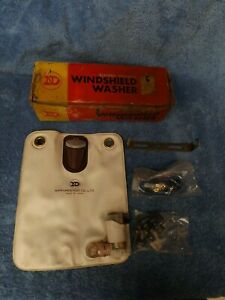 Vintage Nippondenso Auto Windshield Washer Pump Bag Kit 060200 6920 Nos