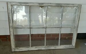 Vintage Sash Antique Wood Window Unique Frame Pinterest Rustic Distressed 36x27