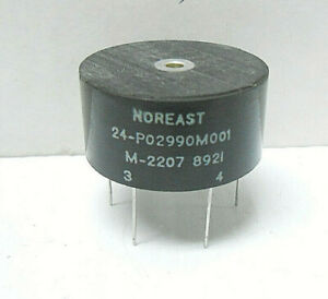M 2207 Noreast Pulse Transformer 6 Pin Nos Made In 1989 Alt Pn 24 p02990m001