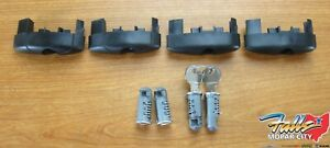 2011 2020 Jeep Grand Cherokee Removable Roof Rack Rails Locking End Caps Oem