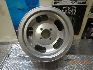 Vintage Used Appliance 13x5 1 2 Slot Mag Wheel 4 Lug Triumph Spitfire 4 On 95mm