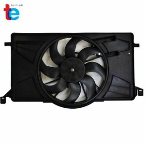 Radiator Ac Condenser Cooling Fan For Ford Focus With Control Module Fo3115189