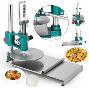 Household Pizza Dough Pastry Manual Press Machine Stainless Steel Diameter 20cm