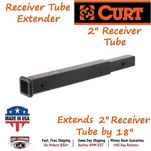 45796 Curt Receiver Tube Extender Extends A 2 X 2 Receiver Tube By 18