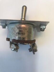 Cutler Hammer 3 Posistion Toggle Switch 8749k13 ms25128 1