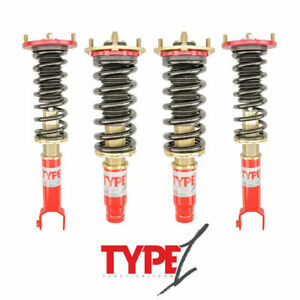 For 1992 2001 Honda Prelude Function And Form Type 1 Height Adjustable Coillover