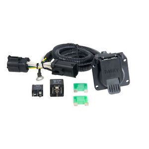 Curt Vehicle to trailer Wiring Harness 55242 For Ford F 150 F 250