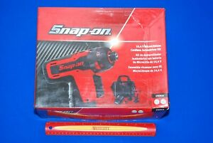 New Snap On 14 4v 1 4 Hex Drive Microlithium Cordless Screwdriver Kit Cts761a
