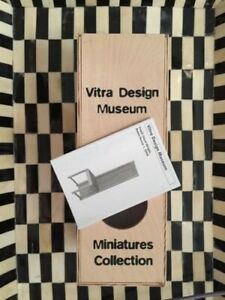 Vitra Miniature Frank Lloyd Wright Robie House Chair Packaging Only Wooden Box