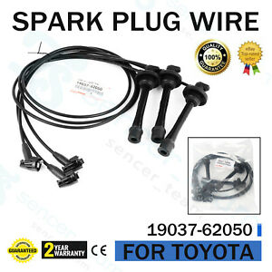 Genuine For Toyota 4runner Tacoma Tundra T100 Spark Plug Wire Set 19037 62050