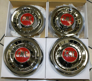 1955 1956 1957 1958 1959 Gmc 1 2 Ton Truck Hubcap New Set Of 4 Chrome