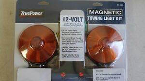 Magnetic Tow Light Kit 12 Volt With 20 Foot Cord 13012