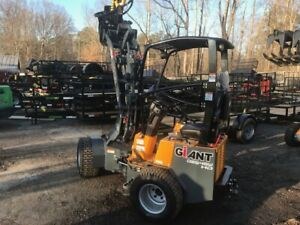 2019 Tobroco Giant 254sw Mini Articulating Loader New Full Warranty