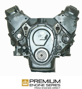 Buick 350 Engine chev 1992 93 Roadmaster New Reman Replacement W tinware