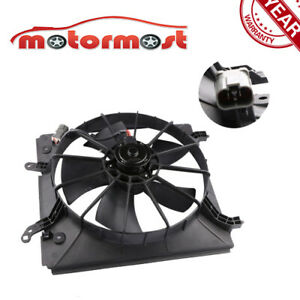 Driver Side Radiator Cooling Fan W Motor For Accord V6 3 0l Acura Tl 3 2l Cl