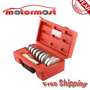 10 Pcs Wheel Bearing Race And Seal Driver Master Set Auto Tool 9 Disc Sizes New