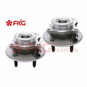 For 2000 2002 2003 Ford F 150 W Abs 4x4 515029 2 New Front Wheel Bearing Hub