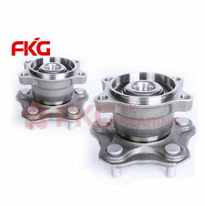 2 Rear Wheel Hub Bearing Assembly New For Nissan Altima Quest W abs 5 Lug 512201