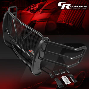 J2 Front Bumper Grille Protector Mesh Brush Guard For 14 15 Chevy Silverado 1500