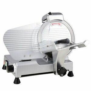 Yescom 10 Electric Slicer 240w 530rpm Commercial Meat Slicer Deli Food Cheese