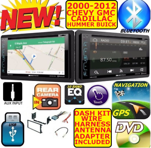 Chevy Gmc Touchscreen Gps Navigation Cd Dvd Aux Bluetooth Car Radio Stereo Pkg