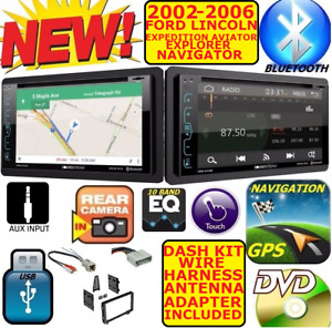 02 06 Ford Expedition Explorer Lincoln Aviator Navigator Nav Bluetooth Stereo