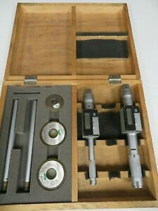 Mitutoyo Holtest Digimatic 5 65 8 1 Bore Gage Set W Case Rings Nm56