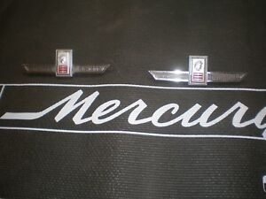 1964 Mercury Marauder Roof Emblems