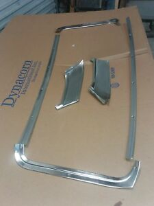 1964 Mercury Marauder 4dr Hardtop Fastback Rear Window Interior Trim